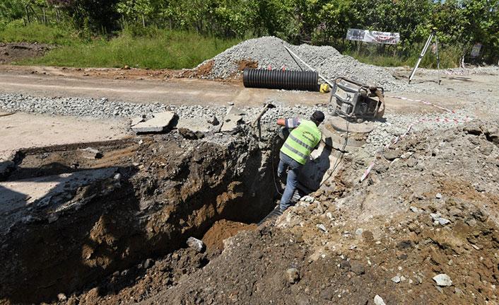 Altınordu'da altyapı yatırımları devam ediyor