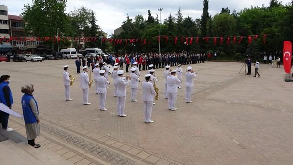 Trabzon'da 19 Mayıs kutlaması
