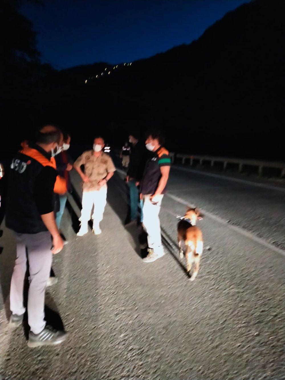 Trabzon'da kayıp Mehmet Deniz'den iyi haber