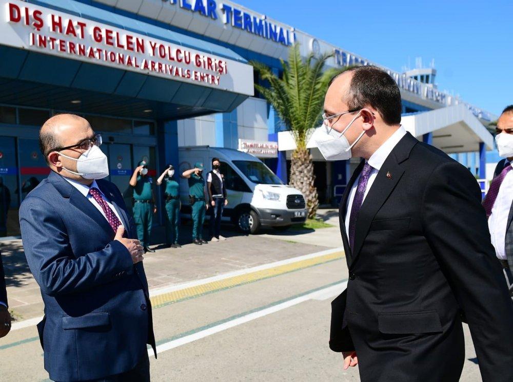 Bakan Mehmet Muş Trabzon'da