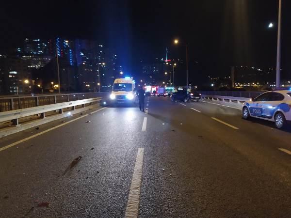 Trabzon'da feci kaza! Araçlar alev topuna döndü