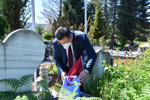 Başkan Genç Mehmet Dalman'ı unutmadı