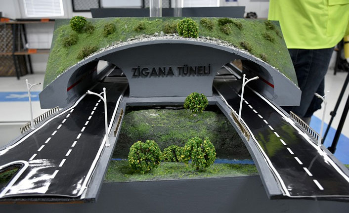 Yeni Zigana Tüneli'nde sona doğru