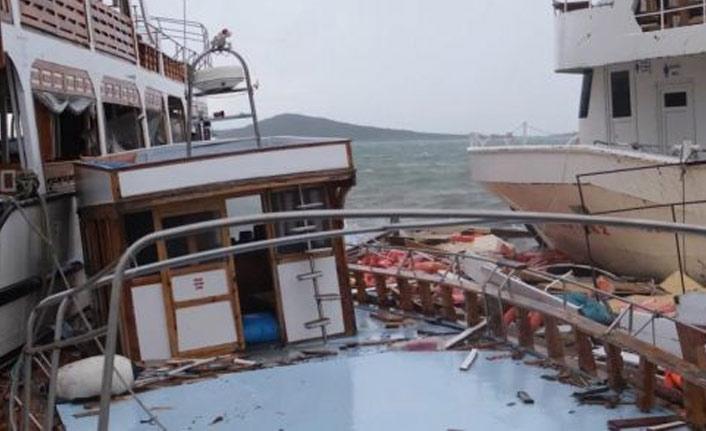 İzmir ve Balıkesir'de fırtına kâbusu!