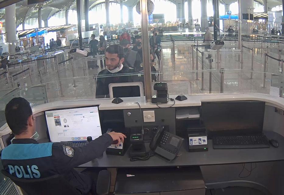 Thodex'in sahibi Özer'in yurt dışına kaçışının görüntüleri ortaya çıktı