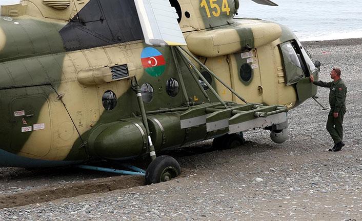 Giresun'a acil iniş yapan askeri helikoptere parça bekleniyor