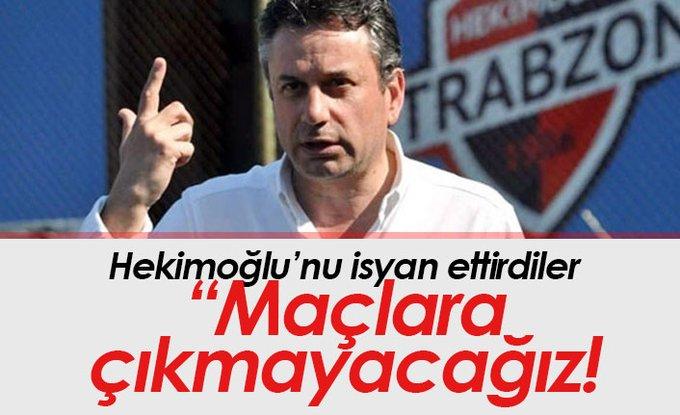 Hekimoğlu Trabzon PFDK'ya sevkedildi