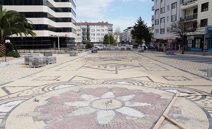 Samsun caddelerine sanatsal dokunuş