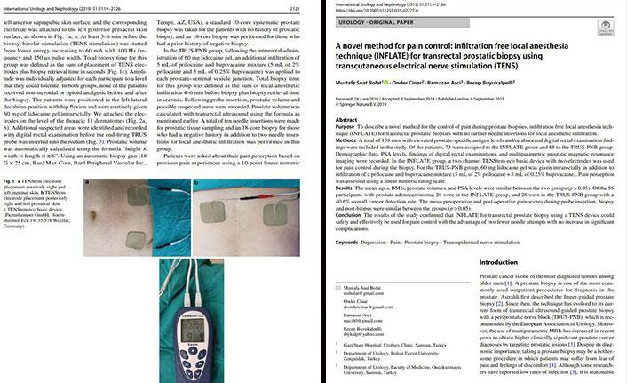 uluslararası tıp dergisinde yayımlanarak