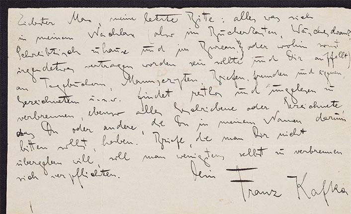 İsrail, Kafka'nın el yazmalarını internette yayımladı