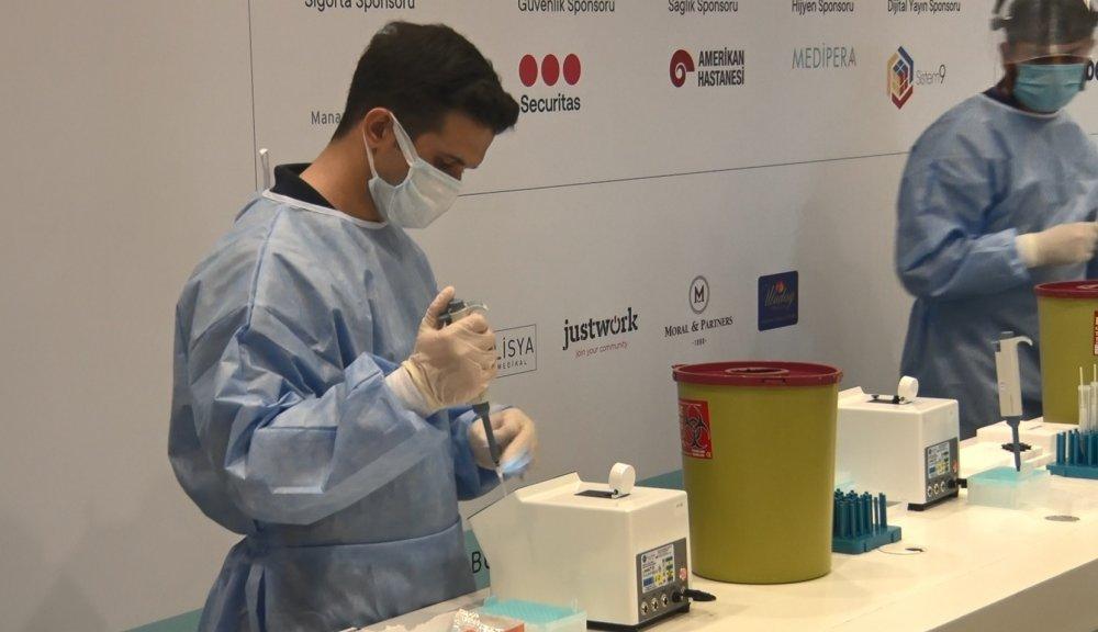Koronavirüsü 10 saniyede tespit ediyor! Türk bilim insanları geliştirdi