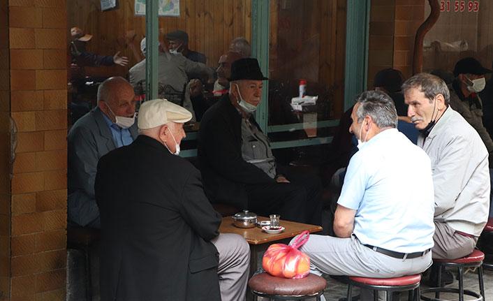 Samsun'da esnafın normalleşme sevinci