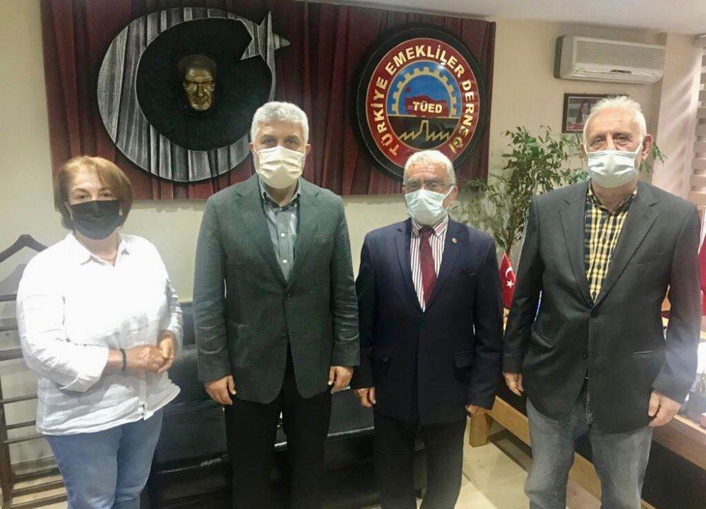 Adnan Günnar'dan TÜED'e ziyaret