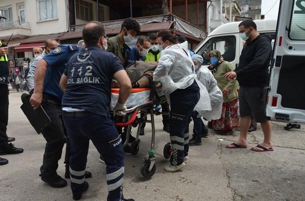 Ordu'da otomobilin çarptığı yaşlı adam yaralandı