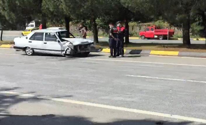 Trabzon'da kaza: 3 yaralı