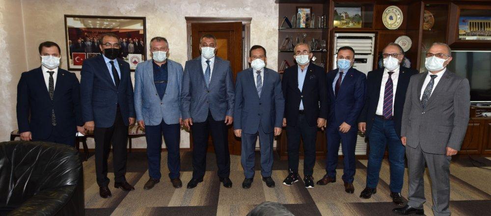 Selahaddin Çebi'den TTSO'ya ziyaret