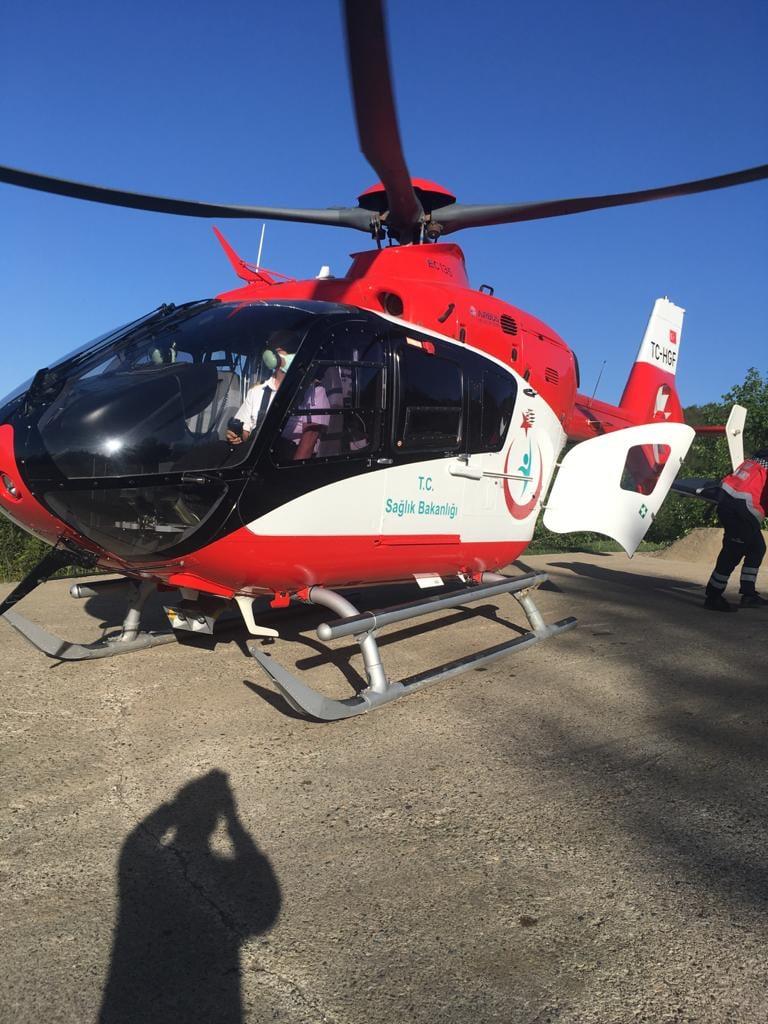 Hava 61 16 hasta için havalandı
