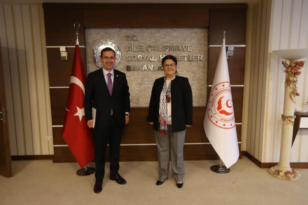 Milletvekili Salih Cora projeleri takip etti