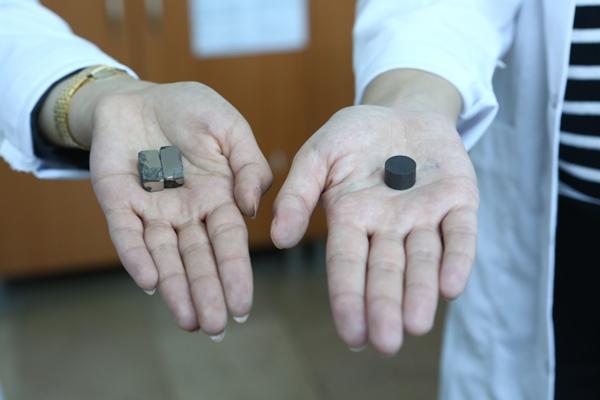 KTÜ'de süper mıknatıs üretiliyor