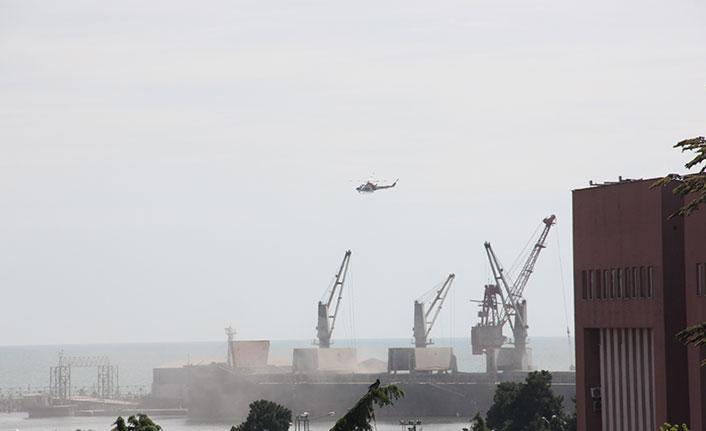Dünya Çevre Günü'nde Samsun Limanı toz altında kaldı