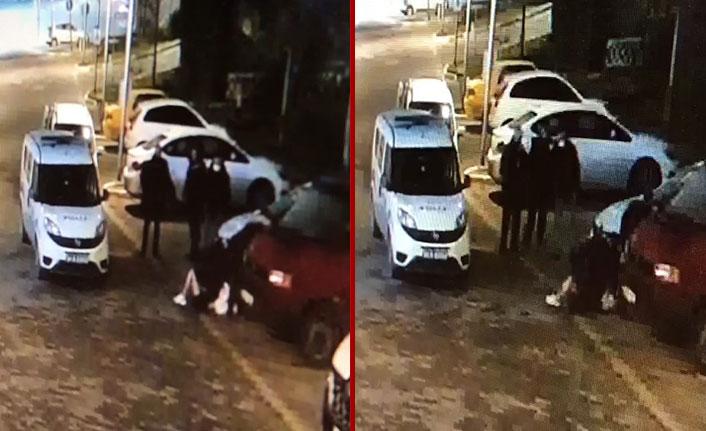 Polisin bir kadını darp görüntülerine Emniyet Müdürlüğü'nden açıklama