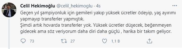 Hekimoğlu açıkladı; Batuhan Karadeniz kalacak mı?