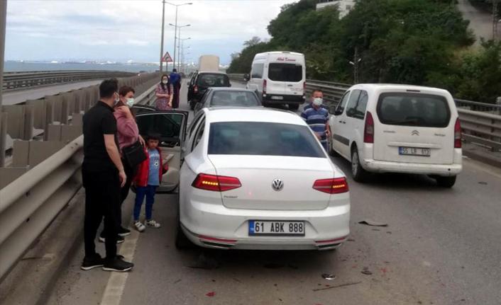 Beşikdüzü kaymakamı kaza yaptı! Eşi ve kızı yaralandı