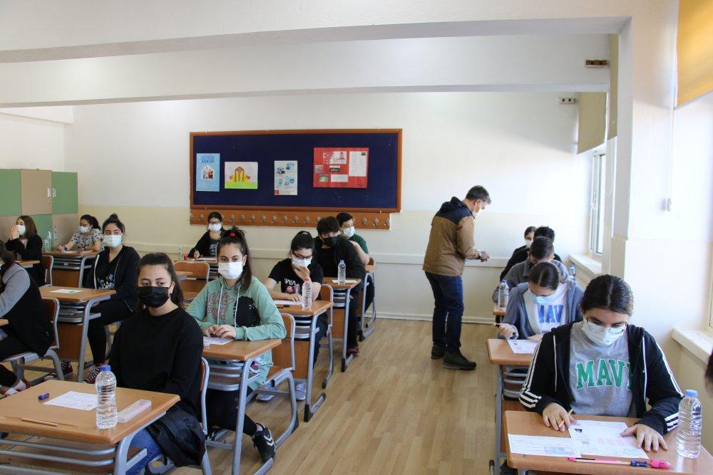 LGS sınavının ilk oturumu başladı
