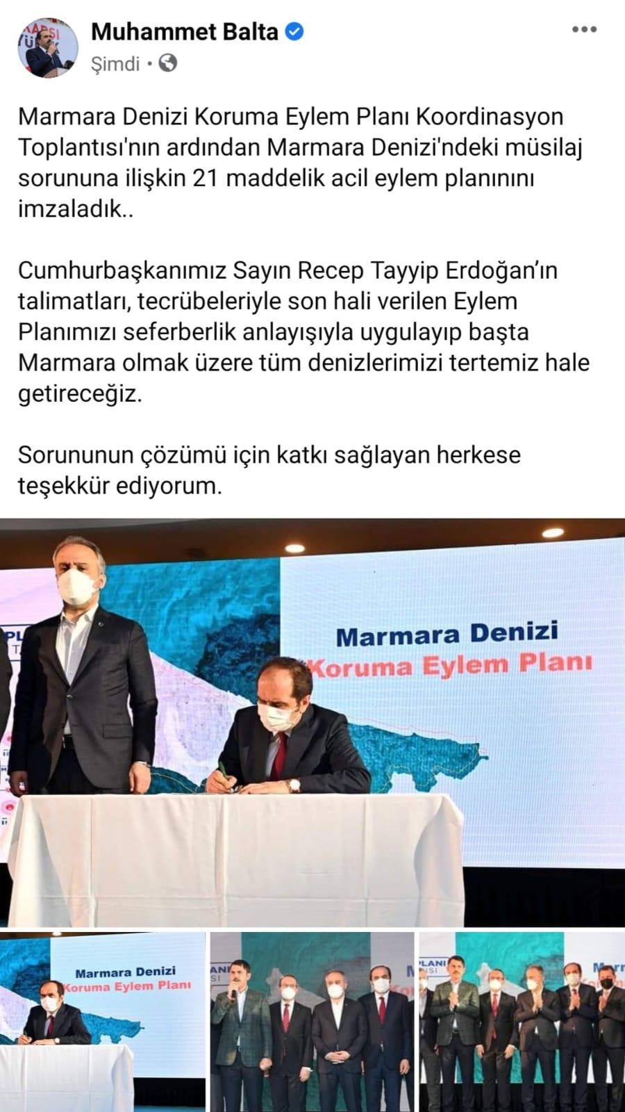 Trabzon Milletvekili açıkladı! Müsilaj sorununda imzalar atıldı