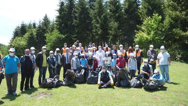 Trabzon'da Hıdırellez Boğazı çöplerden temizlendi!