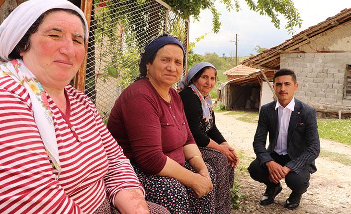 O Türkiye'nin en genç muhtarı