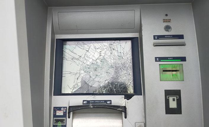 Samsun'da ATM'lere saldırı