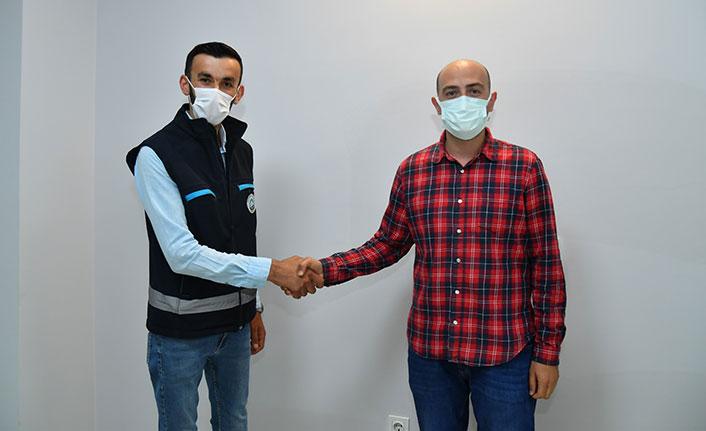 Ortahisar Belediyesi Temizlik İşleri ekipleri