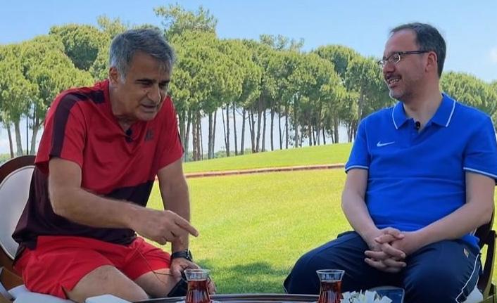 Bakan sordu Şenol Güneş yanıtladı: Trabzonspor'un çıkışı...