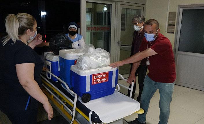 Trabzon'da beyin ölümü gerçekleşen kadın, organlarıyla 7 hastaya umut oldu