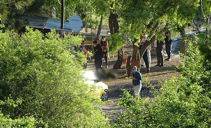 Baraj kenarında üçlü cinayet