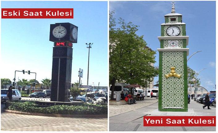 Giresun Belediyesi'nden 'saat kulesi' açıklaması