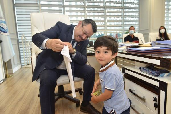 """Pereira'dan Başkan Genç'e ziyaret! """"Trabzon'u unutamam"""""""