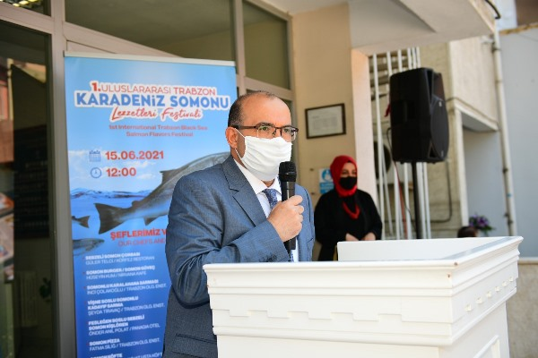 Trabzon'da Karadeniz Somonu Lezzetleri Festivali başladı