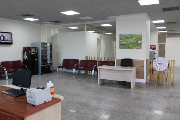 Trabzon'daki hastaneye yeni aşılama ünitesi