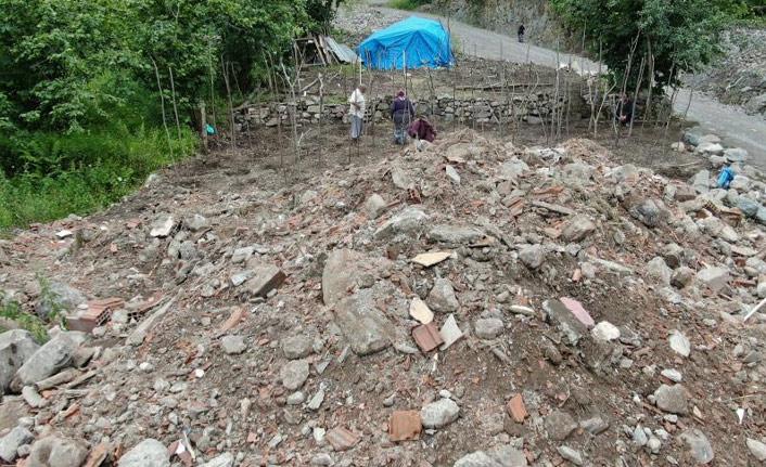 Araklı'daki sel felaketinin acısı unutulmadı