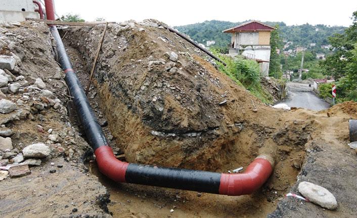 Rize'de içme suyundan elektrik üretimi için geri sayım