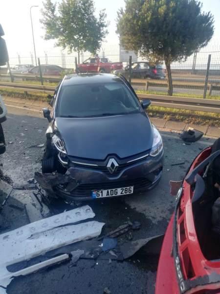 Trabzon'da iki ayrı kaza! 1 yaralı