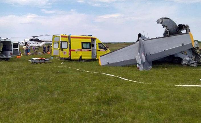 Rusya'da uçak faciası 9 ölü, 15 yaralı