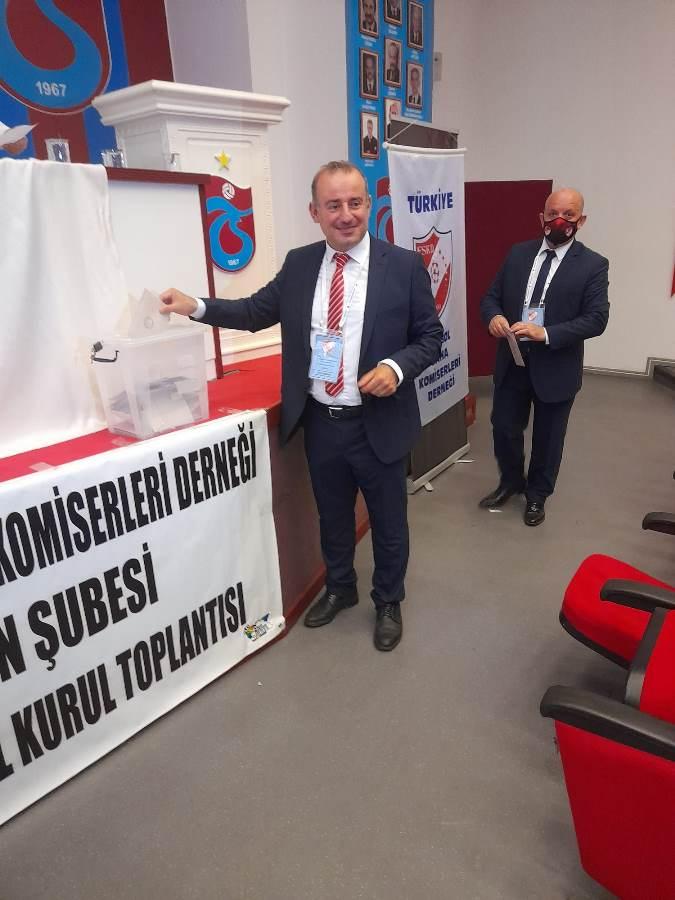 Trabzon'da saha komiserleri başkanını seçti
