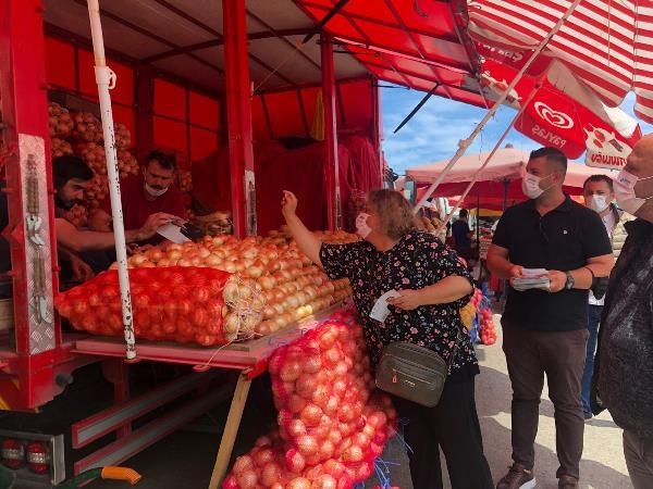 Deva Partisi Trabzon'da Semt Pazarında
