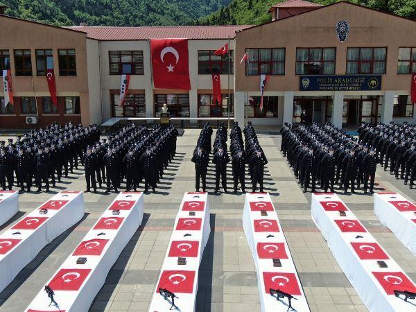 Trabzon POMEM yeni mezunlarını verdi