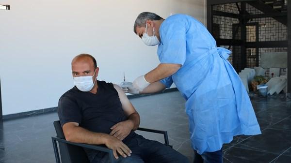 Bayburt'ta yerinde aşı dönemi