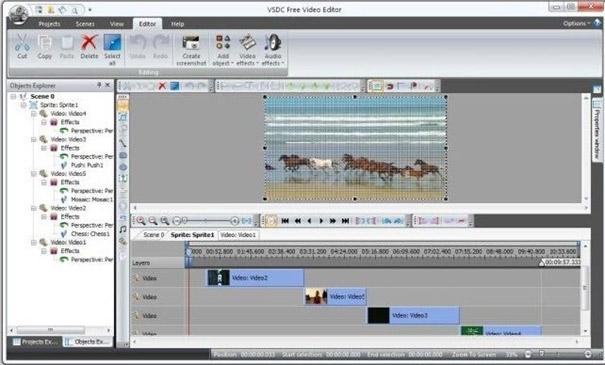 4. VSDC Video Editor