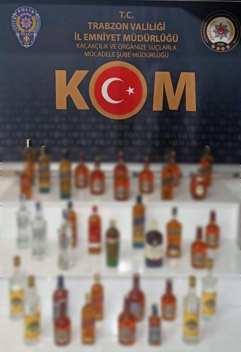 Trabzon, Giresun ve Rize'de kaçakçılık operasyonu